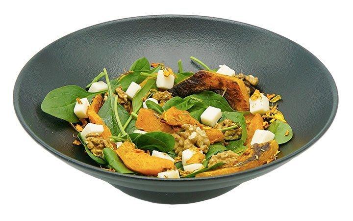 insalata-spinaci-zucca-formaggio-di-capra
